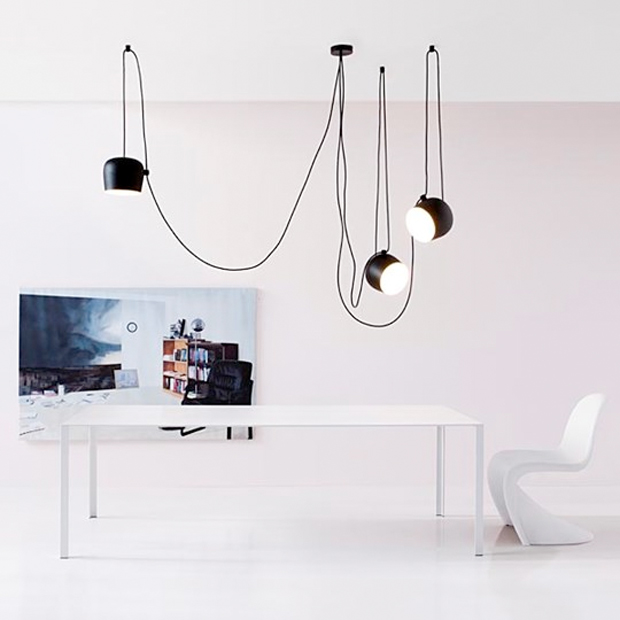 flos pendelleuchte aim aim small design achille castiglioni. Black Bedroom Furniture Sets. Home Design Ideas