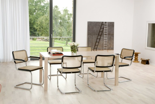 thonet s 32 stuhl design marcel breuer mart stam 1929 30. Black Bedroom Furniture Sets. Home Design Ideas