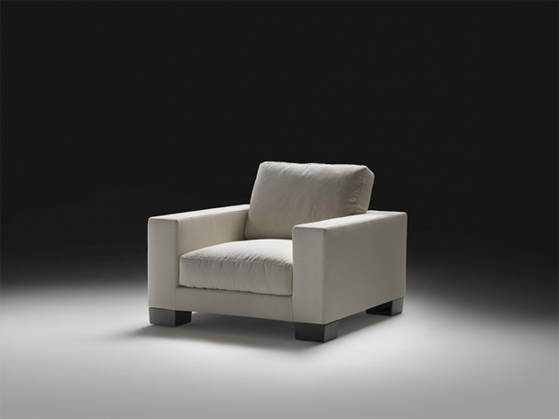 Flexform status 02 sessel design antonio citterio for Einzelner sessel