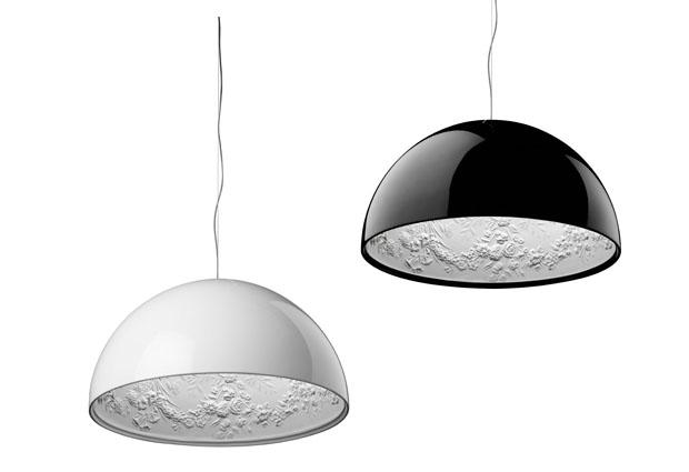 moderne pendelleuchte glas schirm ROMEO LOUIS II S2 design Philippe Starck
