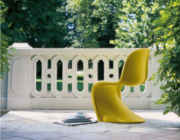 vitra panton chair verner panton 1999. Black Bedroom Furniture Sets. Home Design Ideas