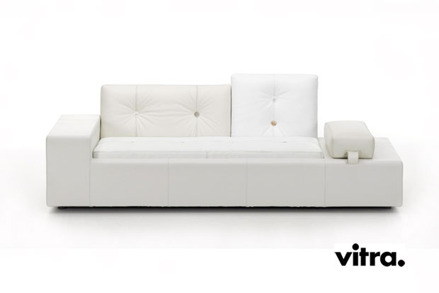 vitra polder sofa leder design hella jongerius 2005 06. Black Bedroom Furniture Sets. Home Design Ideas