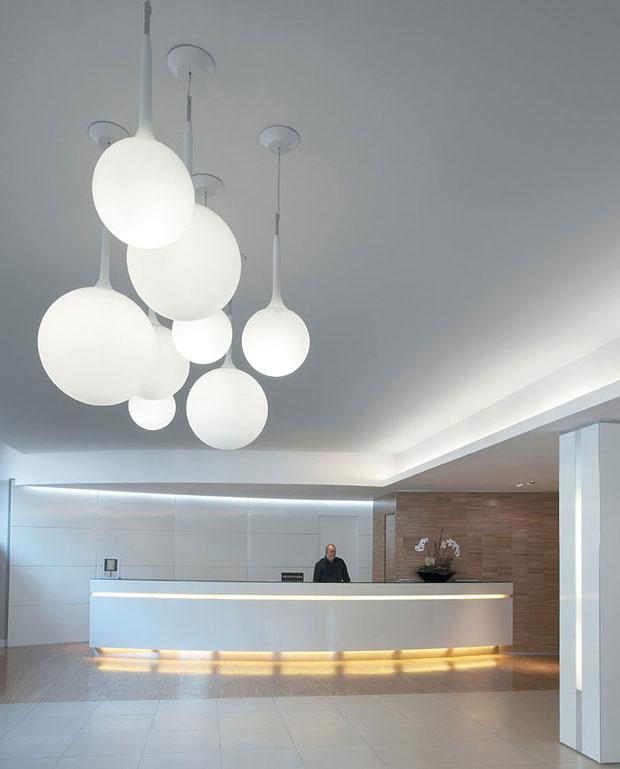 Artemide pendelleuchte castore design de lucci und ubbens for Globe luminaire interieur