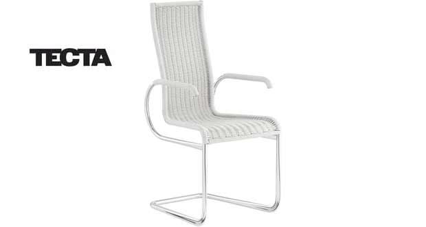 tecta kragstuhl d27 freischwinger. Black Bedroom Furniture Sets. Home Design Ideas