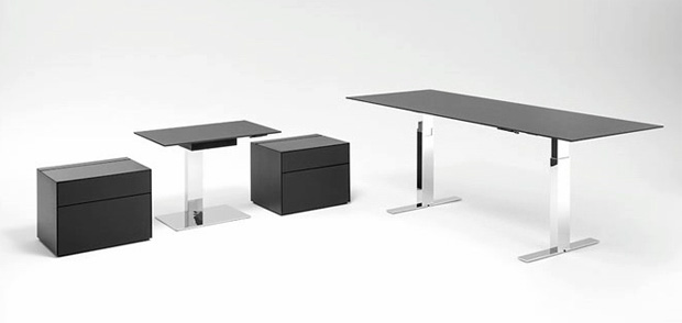 walter knoll exec v chefzimmer schreibtisch design wolfgang c r mezger. Black Bedroom Furniture Sets. Home Design Ideas