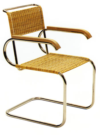 tecta d 40 bauhaus freischwinger design marcel breuer. Black Bedroom Furniture Sets. Home Design Ideas