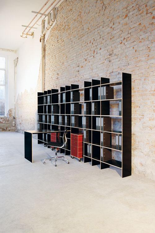 nils holger moormann regal fnp design axel kufus 1989. Black Bedroom Furniture Sets. Home Design Ideas