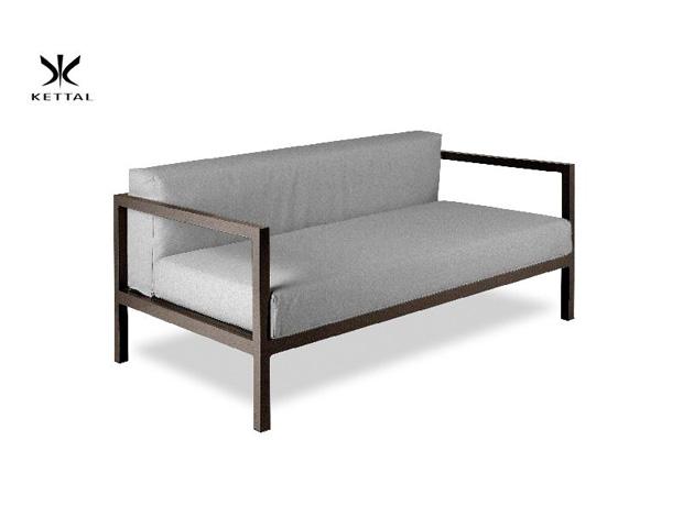 kettal zweisitzer sofa landscape design kettal studio. Black Bedroom Furniture Sets. Home Design Ideas
