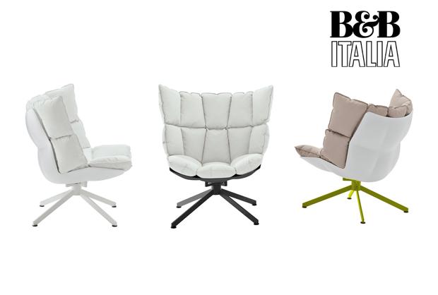 Bb Italia Husk Sessel Design Patricia Urquiola