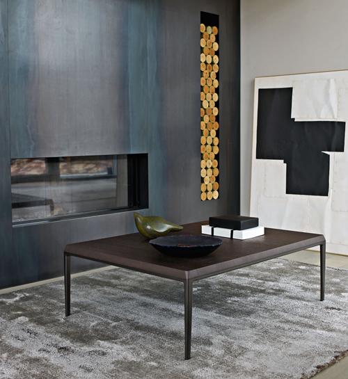 Contemporary Home Style By B B Italia: Michel Couchtisch (design: Antonio Citterio