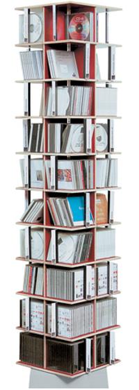 moormann musikstapler cd regal regal design tom fischer 2006. Black Bedroom Furniture Sets. Home Design Ideas