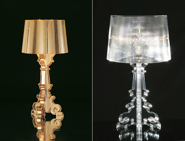 Bourgie Tafellamp Kartell : Kunststoff xl tischleuchte bourgie u eu e westwingnow