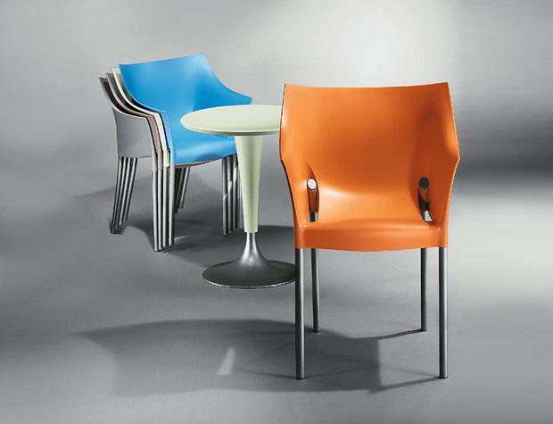 kartell dr no stapelstuhl design philippe starck. Black Bedroom Furniture Sets. Home Design Ideas