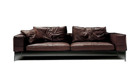 Flexform Lifesteel Sofa Antonio Citterio