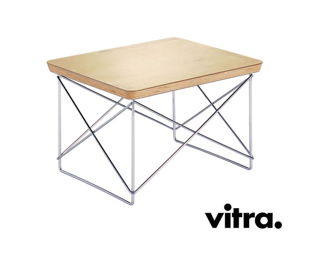 vitra occasional table charles ray eames 1950. Black Bedroom Furniture Sets. Home Design Ideas