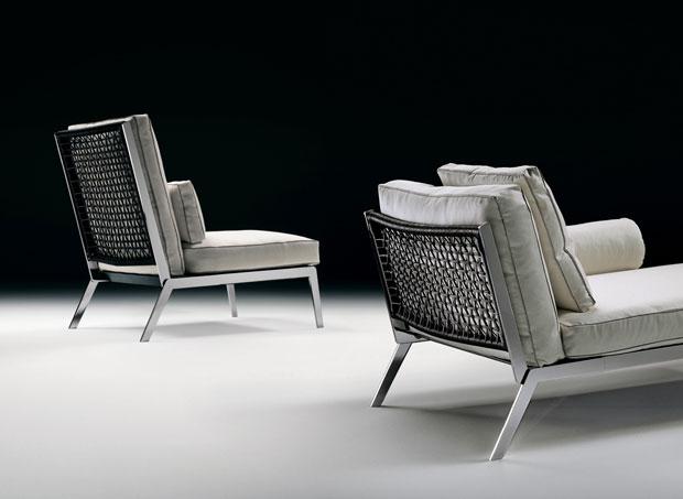 flexform happy sessel design antonio citterio 2005. Black Bedroom Furniture Sets. Home Design Ideas
