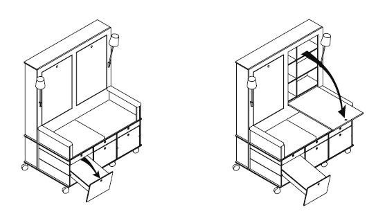 moormann lese lebe regal sitz container design nils. Black Bedroom Furniture Sets. Home Design Ideas