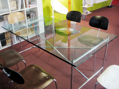 Egon eiermann 2 tisch tischgestell tischplatten und for Designer tischplatten