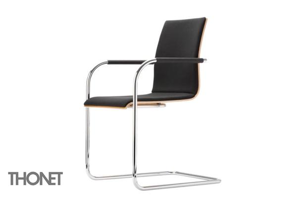 thonet s 55 freischwinger stuhl design thonet design team 2010. Black Bedroom Furniture Sets. Home Design Ideas