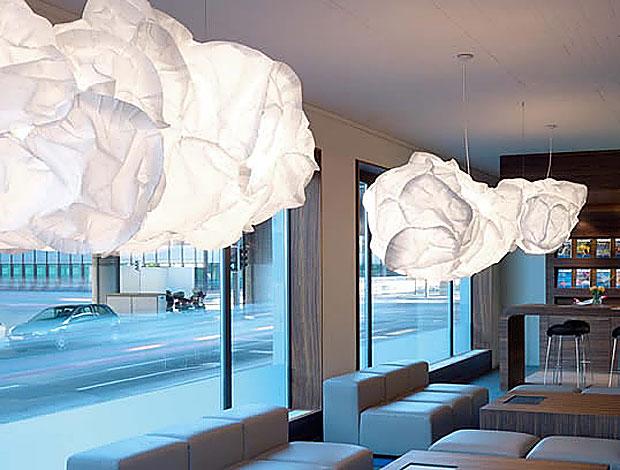 Belux pendelleuchte mama cloud design frank gehry 2005 for Frank dekorationsartikel