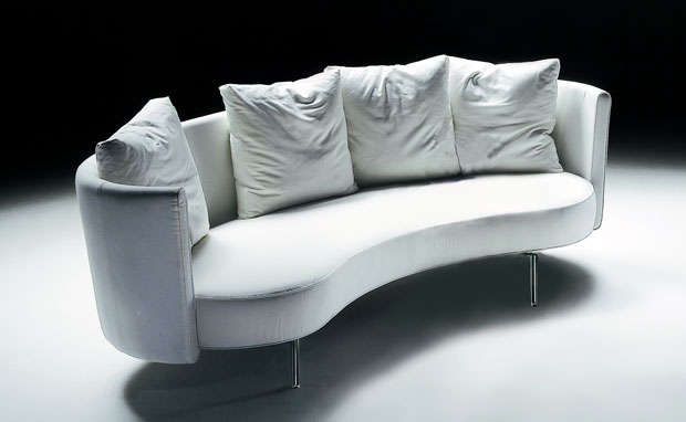 Sofa geschwungen  Flexform - PHIL Sofa ( design: Antonio Citterio 1983 )