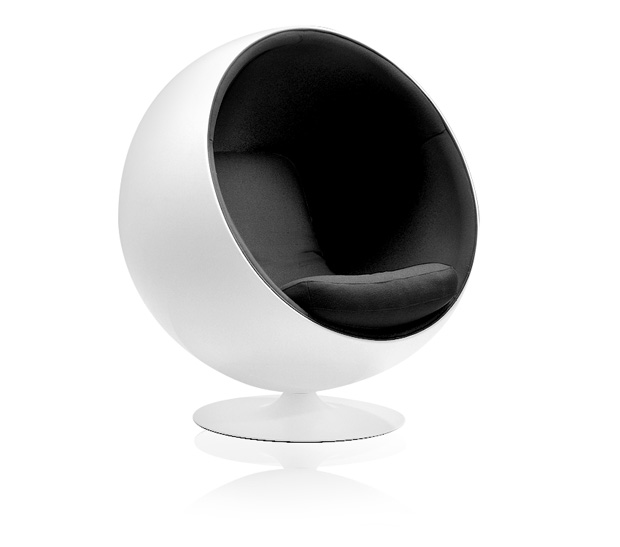 adelta ball chair design eero aarnio 1962. Black Bedroom Furniture Sets. Home Design Ideas