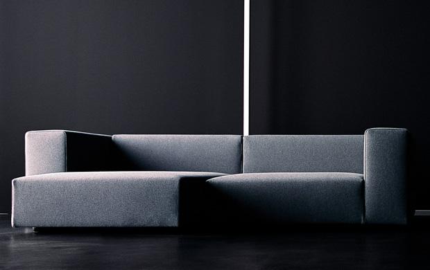 LIVING DIVANI - WALL Sofa (design: Piero Lissoni)