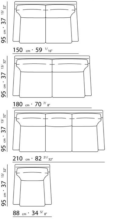 Flexform pierre for Sofa zeichnung