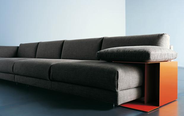 Living divani family lounge sofa design piero lissoni for Living divani softwall