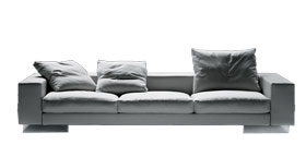 Flexform Lightpiece Sofa Antonio Citterio