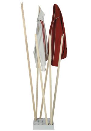 moormann pin coat garderobe design oliver bahr. Black Bedroom Furniture Sets. Home Design Ideas