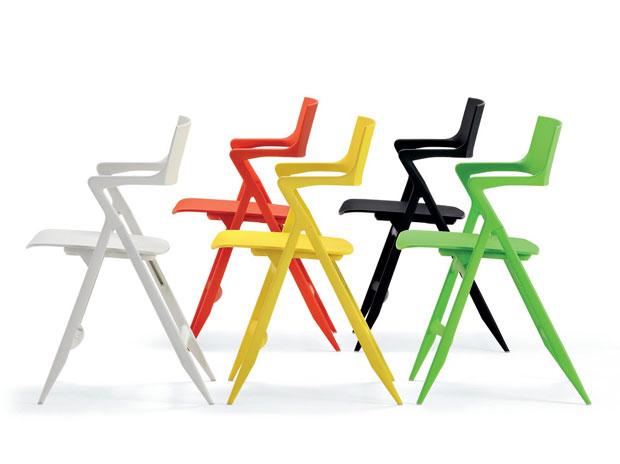 Klappstuhl design  KARTELL - DOLLY Klappstuhl (design: Antonio Citterio und Oliver Löw