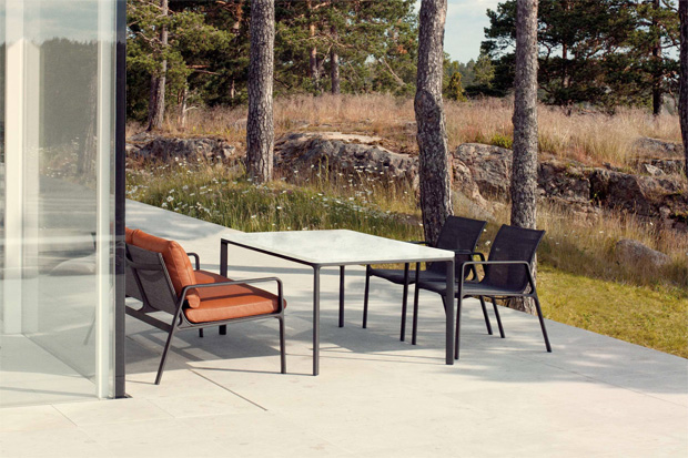 Kettal sofa park life design jasper morrison for Design club sessel
