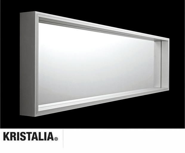 Kristalia extra large spiegel design luciano bertoncini for Spiegel extra