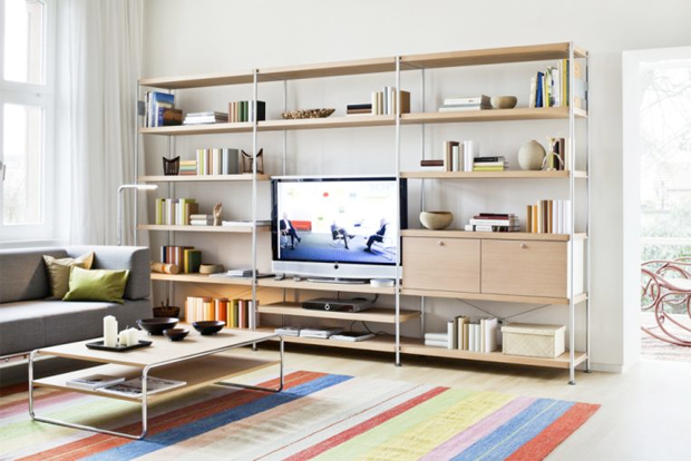 thonet 7000 modulares regal design f p design 2010. Black Bedroom Furniture Sets. Home Design Ideas