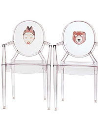 kartell louis ghost stapelstuhl design philippe starck. Black Bedroom Furniture Sets. Home Design Ideas