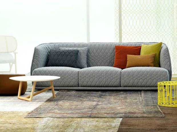 Moroso redondo sofa design patricia urquiola for Sofa exterior redondo
