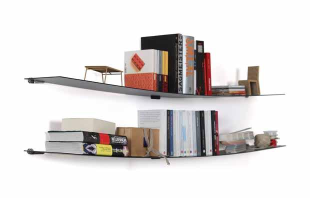 moormann watn blech wandregal design bernhard osann 2013. Black Bedroom Furniture Sets. Home Design Ideas