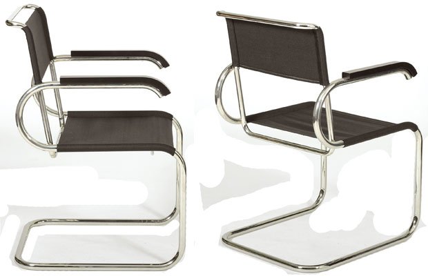 tecta d 40 bauhaus freischwinger design marcel breuer. Black Bedroom Furniture Sets. Home Design Ideas
