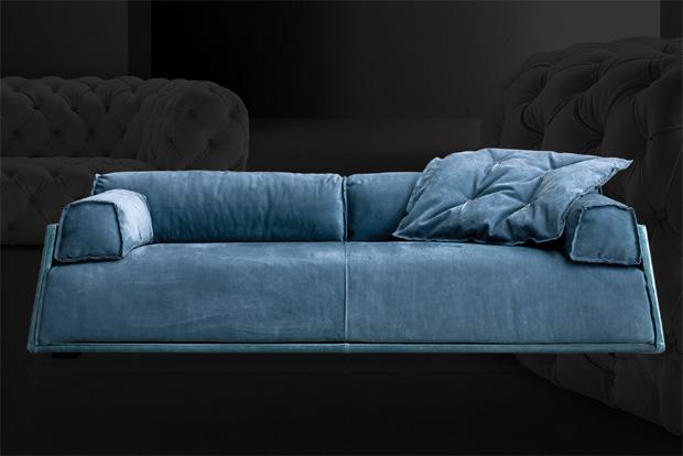 baxter sofa hard soft slim design paola navone. Black Bedroom Furniture Sets. Home Design Ideas