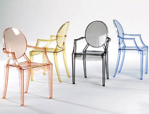 KARTELL - LOUIS GHOST Stapelstuhl (design: Philippe Starck)