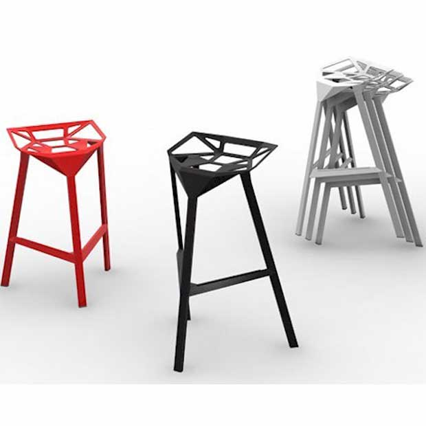 magis stool one barhocker design stefano giovannoni. Black Bedroom Furniture Sets. Home Design Ideas
