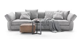 Flexform Newbridge Sofa Carlo Colombo