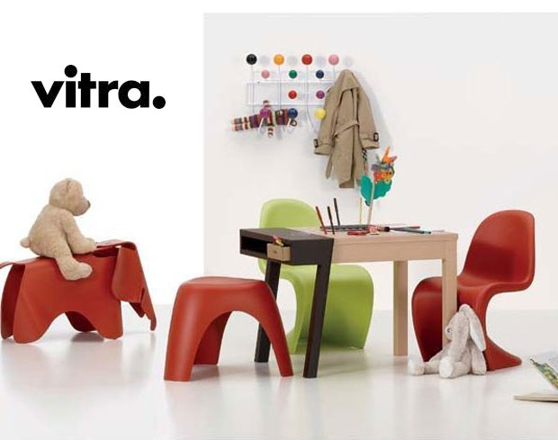 vitra hang it all kindergarderobe design charles ray eames 1953. Black Bedroom Furniture Sets. Home Design Ideas