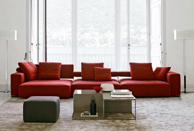 b b italia andy 13 sofa design paolo piva 2013. Black Bedroom Furniture Sets. Home Design Ideas