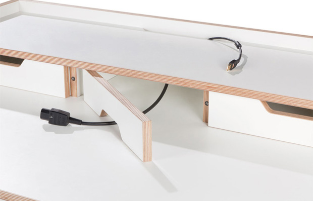 m ller m belwerkst tten plane schreibtisch sekret r. Black Bedroom Furniture Sets. Home Design Ideas