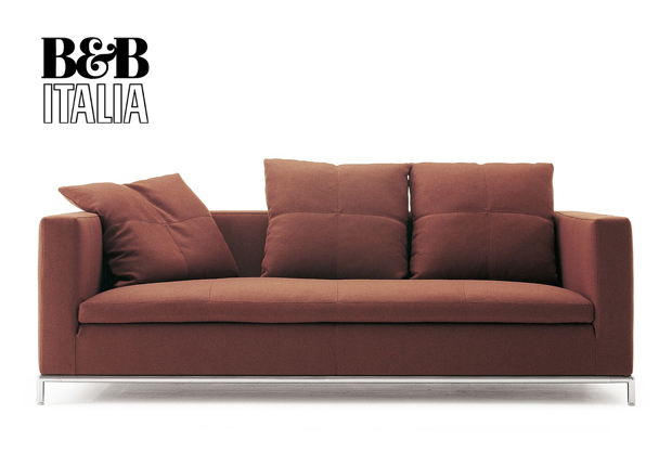 B b italia george sofa design antonio citterio for B b couch