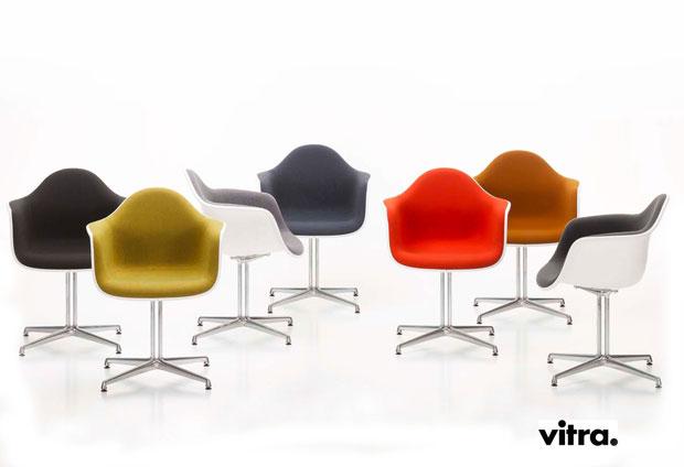 Eames Plastic Armchair : Vitra eames plastic armchair dal charles ray eames