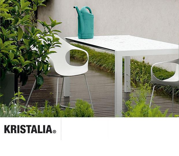 kristalia sushi 12 outdoor tisch design bartoli design. Black Bedroom Furniture Sets. Home Design Ideas