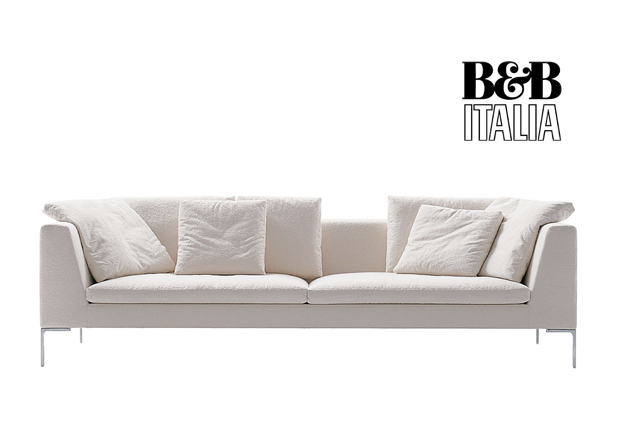 b b italia charles large sofa design antonio citterio. Black Bedroom Furniture Sets. Home Design Ideas